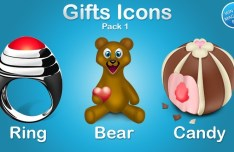 Cute Gift Icons 01