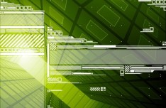 Abstract Technology Circuit Board Background Vector 01