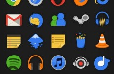 Plex - 110+ Flat Web Icons