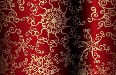 Vector Floral Swirls Background 01