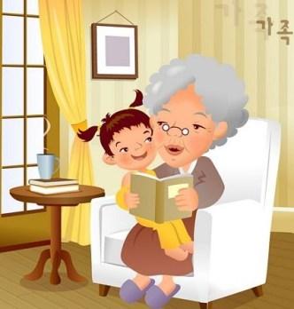 Cartoon Family Life Vector Illustration 04