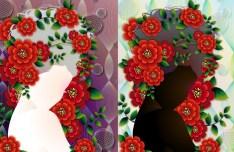 Beautiful Flower Girls Vector 01