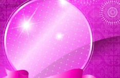 Colorful Fantasy Vector Background 05