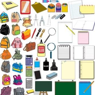 Set Of Vector School Subjects