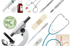 Vector Clean Medical Supplies
