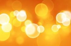 Orange Halos Background Texture