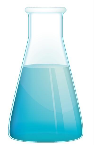 Blue Flask Vectot