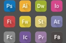 12 Adobe Product Icons (PSD and PNG)