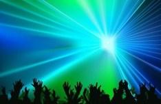 Vector Laser Light Show Background 03