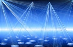 Vector Laser Light Show Background 04