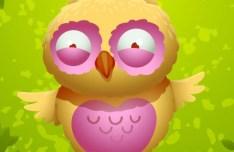 Cute Cartoon Owl Vector 03