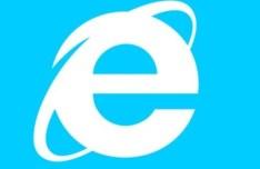 Flat Internet Explorer Logo Vector