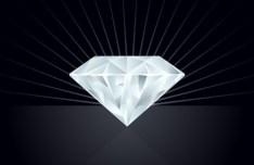 Vector Bright Diamond