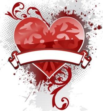 Creative Poker Playing Card Heart Design Vector