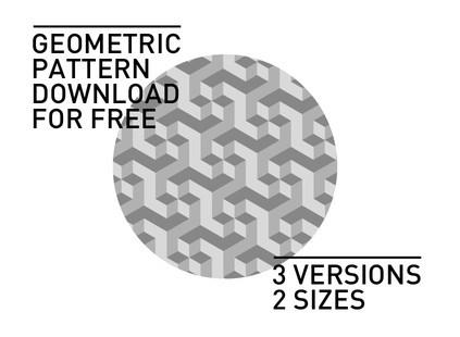 Light Grey Geometric Photoshop Patterns
