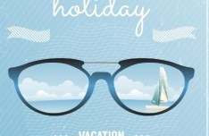 Summer Holiday Vacation Design Elements