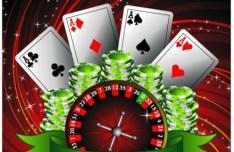 Vector Casino Poster Design Elements 01