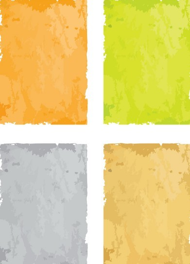 Set Of Colorful Vector Grunge Backgrounds 01
