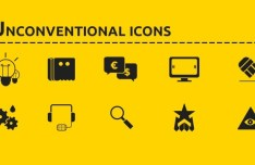 Unconventional Icons (AI + Font Icons)