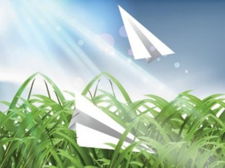 Fresh Natural Sunshine Vector Illustration 02