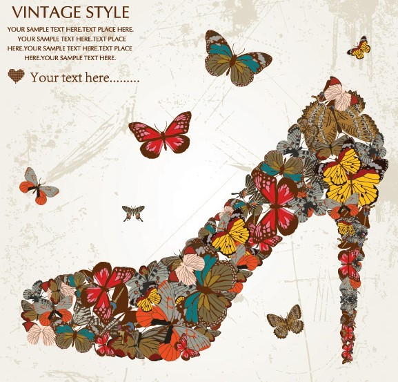 Vintage Ornamental Floral Patterns Vector 04