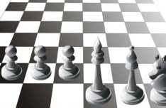 Vector Chess Design Elements Illustration 02