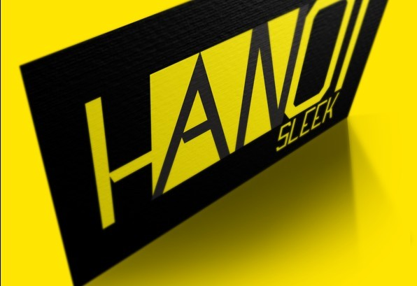 Free Font Hanoi Typeface