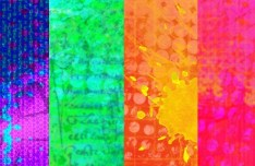 4 Colorful Abstract Spalsh Texture Background