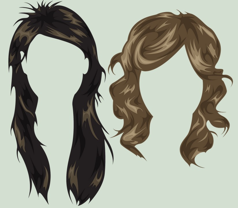 Free Woman Hairstyles PSD