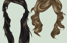 Woman Hairstyles PSD