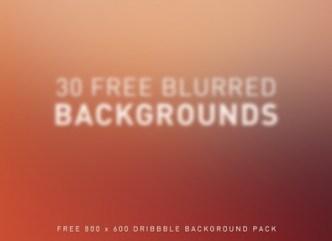 30+ Blurred Background Textures