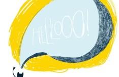 Hand Drawn Cartoon Speech Bubble