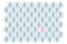 Seamless Clean Floral Pattern Background Vector 06
