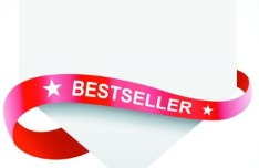 Clean Price Tag with Red Ribbon Vector 02