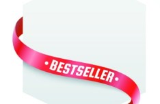 Clean Price Tag with Red Ribbon Vector 05