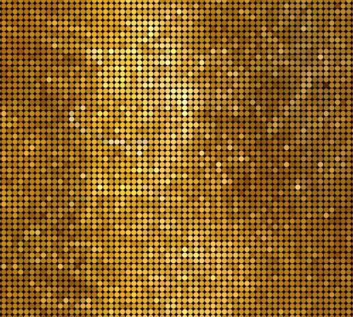 Bright Golden Abstract Mosaics Background 02