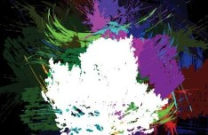 Abstract Paint Splash Vector Illustration 05
