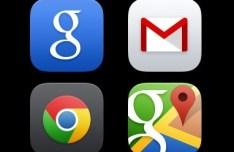 iOS 7 Styled Google App Icons PSD