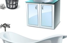 Set Of Vector 3D Furniture 05