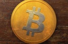 Old Bitcoin Icon PSD