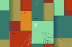 Colorful 3D Boxes Background Vector 05