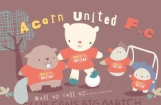 Cute Cartoon Bears Vector Illustration 01