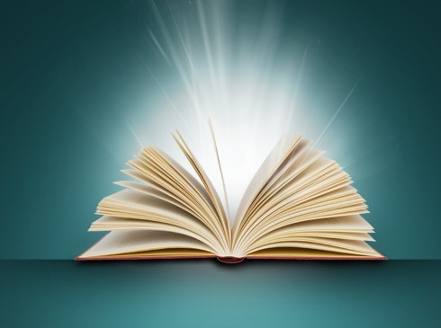 Opened Book PSD