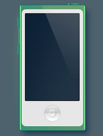 iPod Nano PSD Mockup