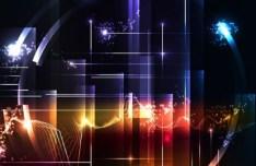 Bright Light HI-Tech Concept Vector Background 01