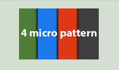 4 Micro Photoshop Patterns