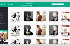 Metro Style iTunes Interface PSD