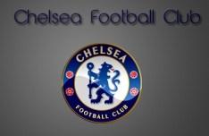 Glossy Chelsea Football Club Logo PSD