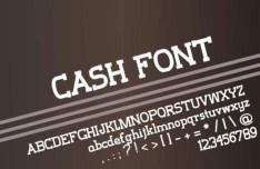 Cash Font