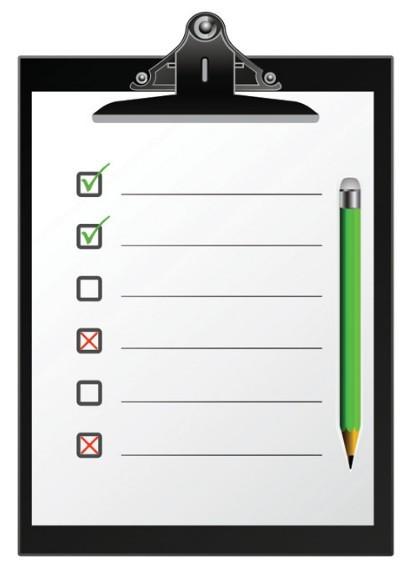 Free Checklist Clipboard Template Vector 01 - TitanUI